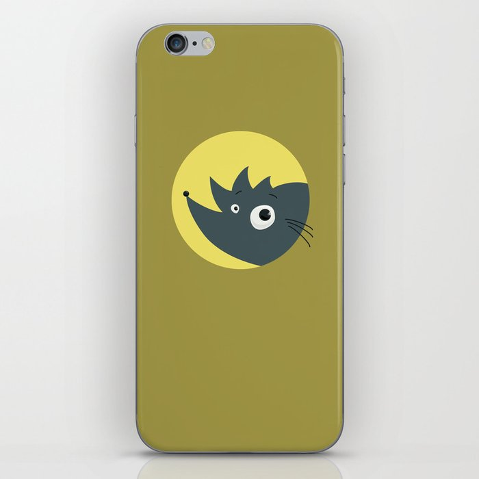 Cute Cartoon Hedgehog iPhone Skin