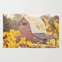 farm Area & Throw Rugs featuring The Farm by Jessica Torres Photography