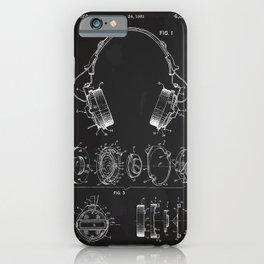 Headphone patent iPhone Case