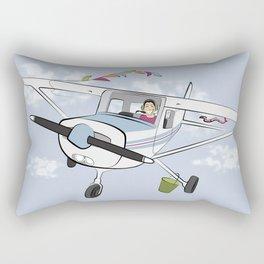 First Solo Flight Rectangular Pillow