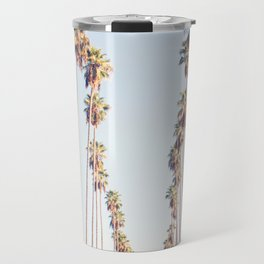 Palm tree stripes Travel Mug