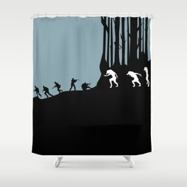 DOG SOLDIERS Shower Curtain