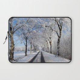 Winter-avenue Laptop Sleeve