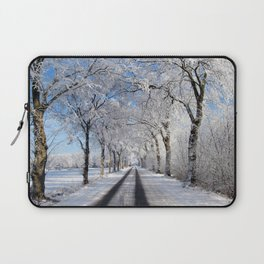 Winter-avenue Laptop Sleeve