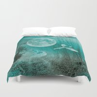 valentina Duvet Covers featuring FOREST DREAMING by Catspaws