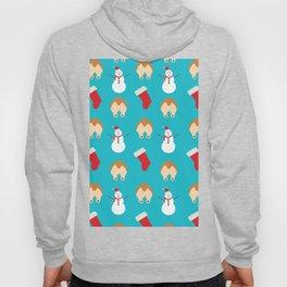 Christmas Corgi Butts Hoody