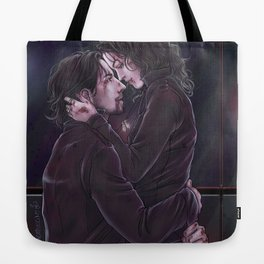 Tell the devil to take you back Tote Bag