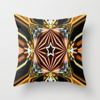 las vegas Throw Pillows featuring Las Vegas! by Cherie DeBevoise