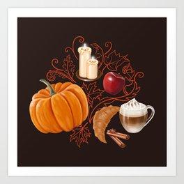 Rustic Fall Art Print