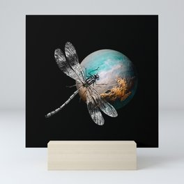 DRAGONFLY V Mini Art Print