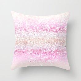 Unicorn Girls Glitter #2 #shiny #pastel #decor #art #society6 Throw Pillow