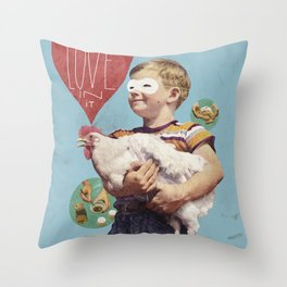 love in it Throw Pillow