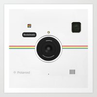 vintage camera Art Prints featuring Camera  by alifart