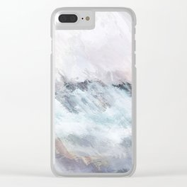 Northern Sunsets Clear iPhone Case