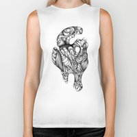surreal Biker Tanks featuring Surreal by Adrianna Grężak