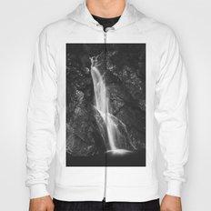 Waterfall in Hell Gorge, Slovenia Hoody