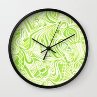 jojo Wall Clocks featuring #50. JOJO by sylvieceres