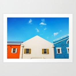 Bridgetown Barbados Art Print