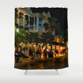 Key West 1997 Portrait - Jéanpaul Ferro Shower Curtain