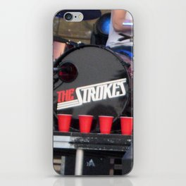Red Solo - The Strokes iPhone Skin