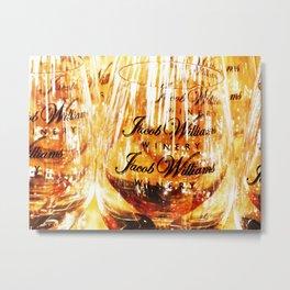 Jacob's Stemware Metal Print