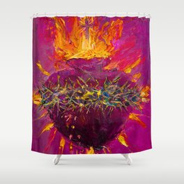 Sacred Love I Shower Curtain