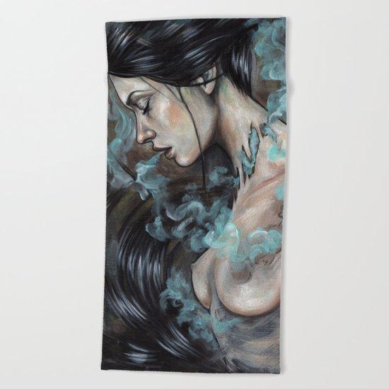 Smoked Beach Towel