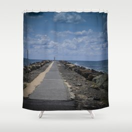 The Spit Gold Coast Shower Curtain