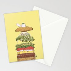 It's Burger Time! Stationery Cards