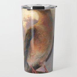 Passenger Pigeon - Martha Finds Her Flock  Travel Mug