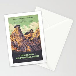 Dinosaur Provincial Park Stationery Cards