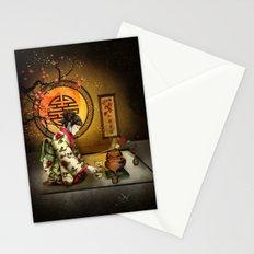 Camellia Tea Stationery Cards