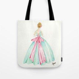 Big Pink Bow Tote Bag