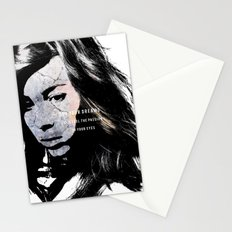 Do your dreams still fuel the passion in your eyes? Stationery Cards