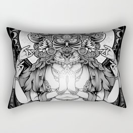 Sacred Ascetic Rectangular Pillow
