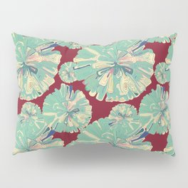 Colorful gift - Doodle Flower Pillow Sham