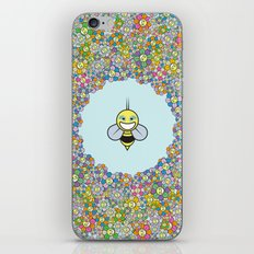 FLOWER POWER BEE iPhone & iPod Skin