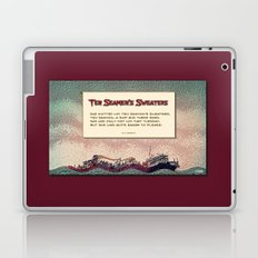 Ten Seamen's Sweaters Laptop & iPad Skin