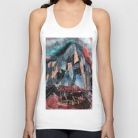 melbourne Tank Tops featuring Melbourne by sladja