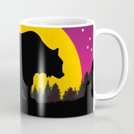 Bear Stars Moon Coffee Mug