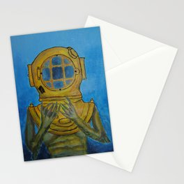 Monstruoso corazón : mi amor  Stationery Cards
