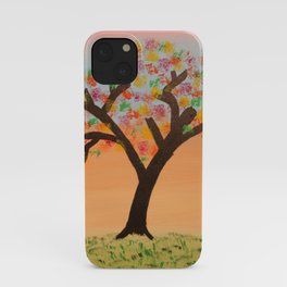 The First Sign of Fall iPhone Case