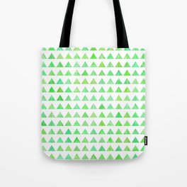evergreen geometric pattern Tote Bag