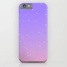 Keep On Shining - Lavender Sunrise iPhone Case