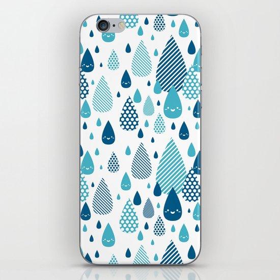 raindrop iPhone & iPod Skin