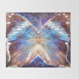 Cosmic Chrysalis Throw Blanket