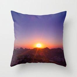 The Day The Sun Stood Still Throw Pillow