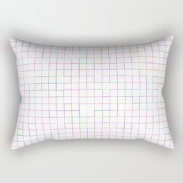 Re-Created SquaresXIX  by Robert S. Lee Rectangular Pillow