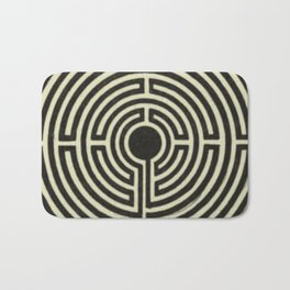 Labyrinth Bath Mat