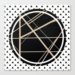 Crossroads - small triangle Canvas Print